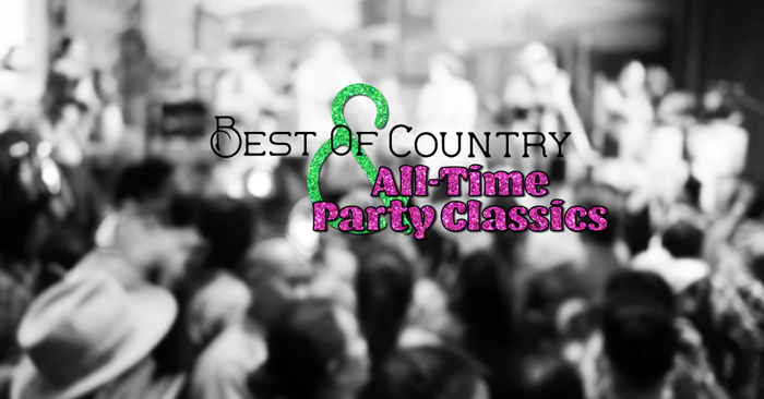 New All-Time Party Classics V1 and Best of Country V3